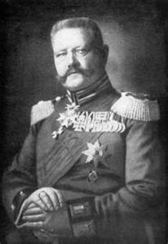 Hindenburg Leadership