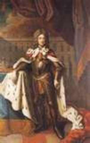 Frederick becomes King