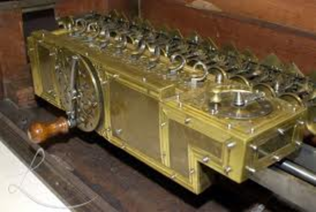 primera maquina multiplicadora