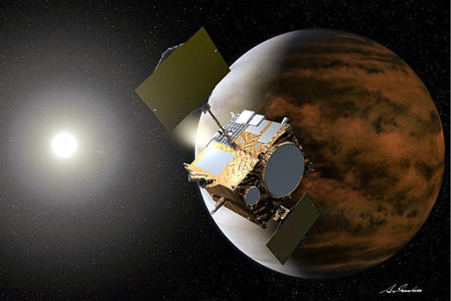 Probe lands on another planet - Venus: USSR