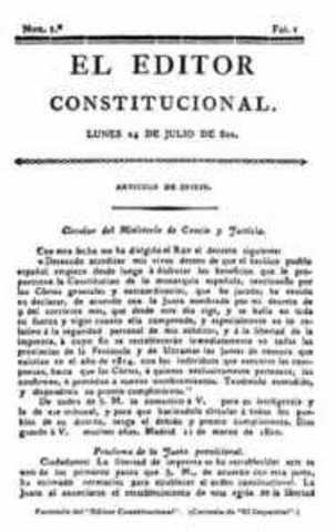 Empieza a circular en Guatemala El Editor Constitucional