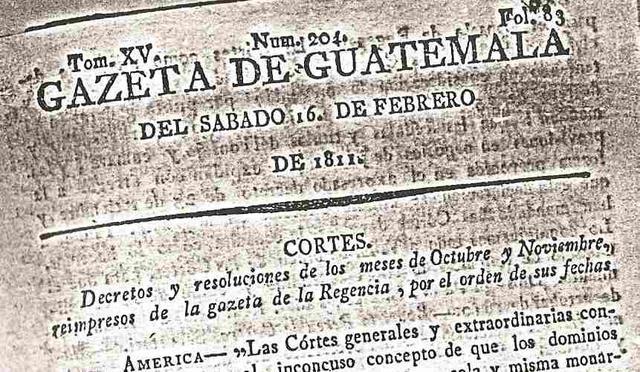 La Gaceta del Gobierno de Guatemala