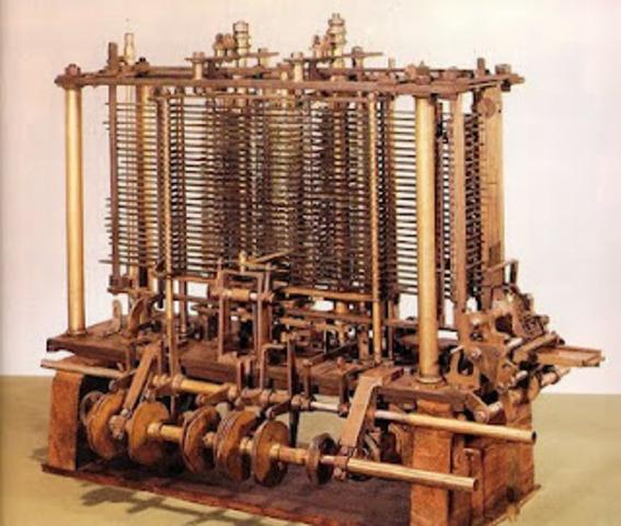 "Charles Babbage ""Máquina diferencial"""