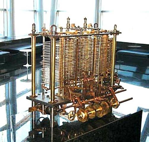 "Babbage ""Maquina Analítica"""