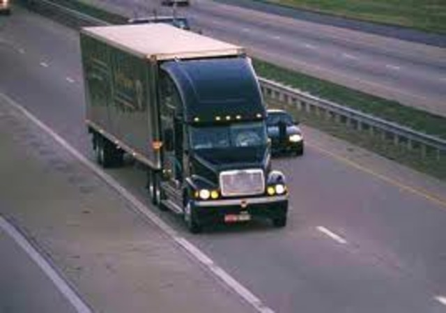 Trucking with Dad