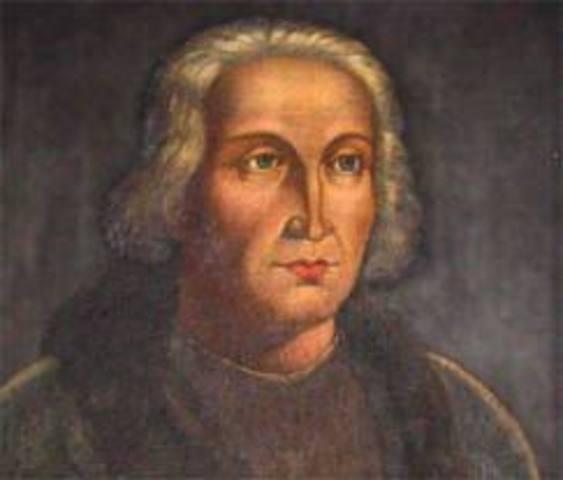 Nacimiento de Cristobal Colón