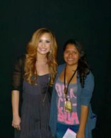 Conocer a Demi Lovato