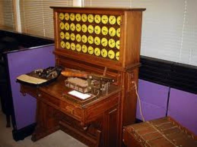 Máquina Tabuladora de Tarjetas Perforadas