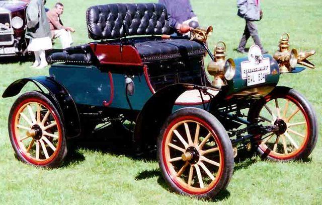 Mass produced automobile