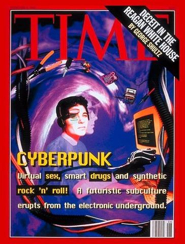 "Time Magazine - ""Cyberpunk!"" cover"