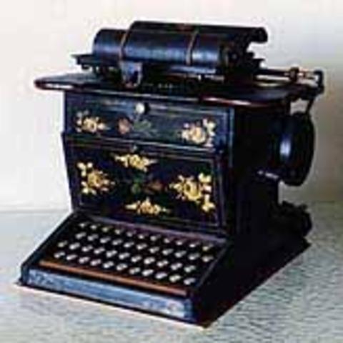 typewrither by W.A.Burt