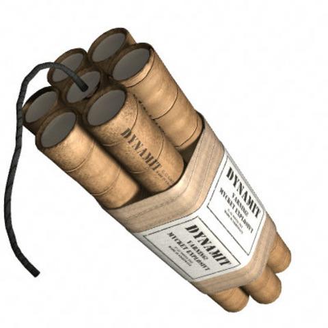 dynamite by Alfred Nobel