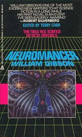 Necromancer of the cyberpunk genre (cyberspaced coined)