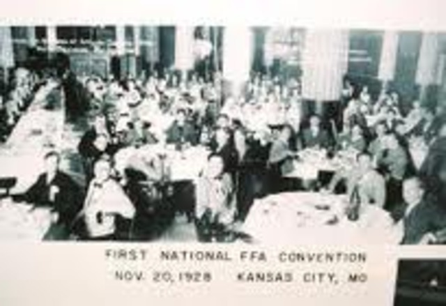 First National FFA convention