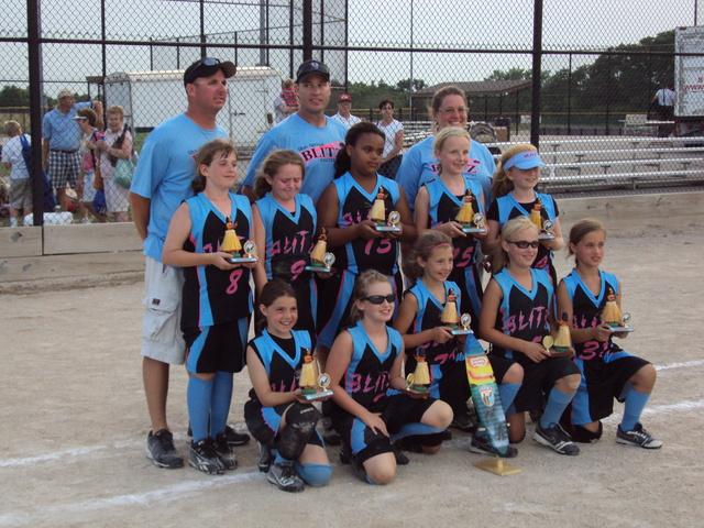 My comp. softball team, the Blitz, is born.