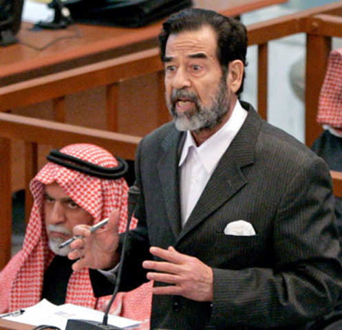 Saddam Hussein convicted of crimes against humanity