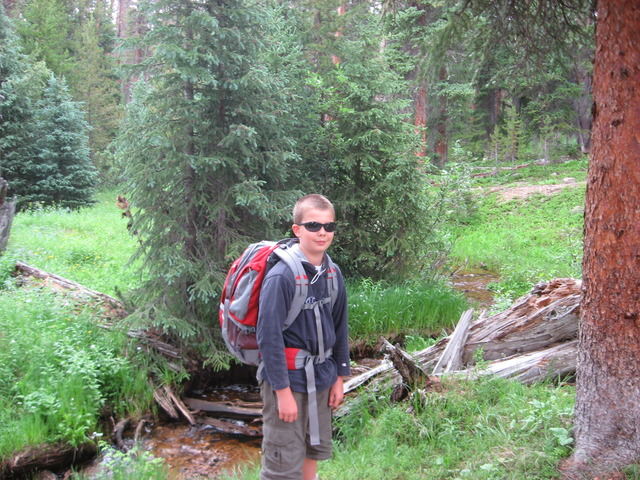 First time backpacking