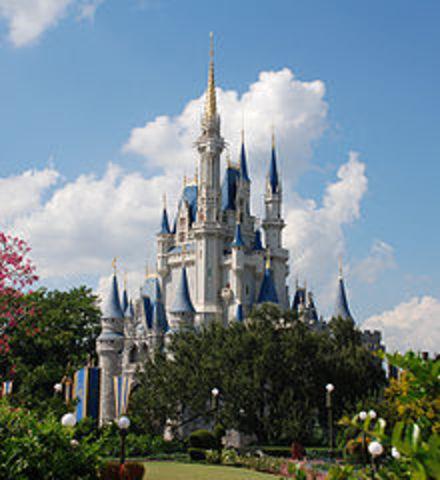 First Trip to Disney World