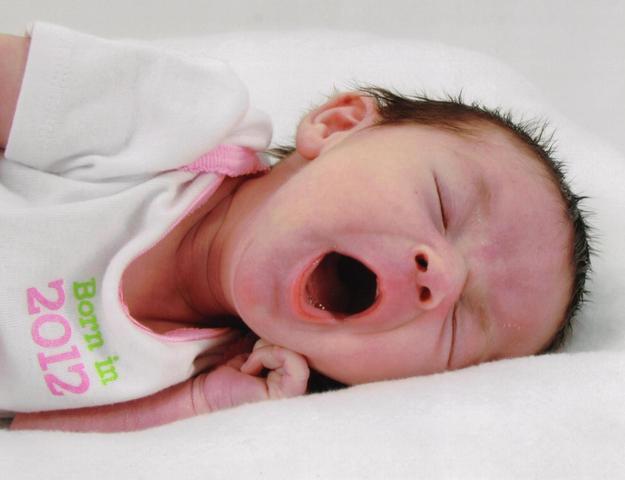 My little cousin, Eva, is born.