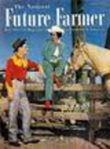 """The National Future Farmer"" magazine"