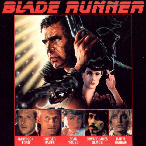 Blade Runner produced by Ridley Scott