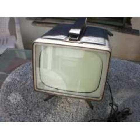 Televisores a blanco y negro portátiles