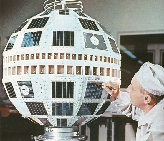 Lanzamiento del satélite Telstar