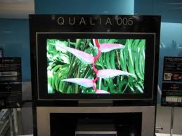 Primer televisor LED