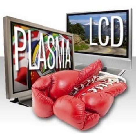 Competencia entre LCD y Plasma