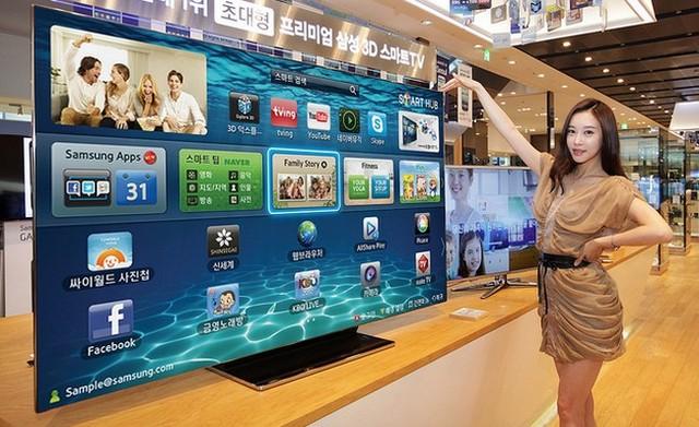 Samsung lánza smart tv de 75 pulgadas