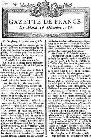 Gazeta de Francia