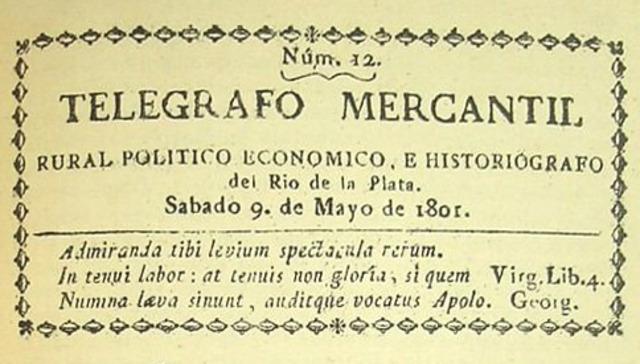 El Telégrafo Mercantil de Argentina sale a circulación