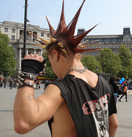 The word PUNK became frequently used
