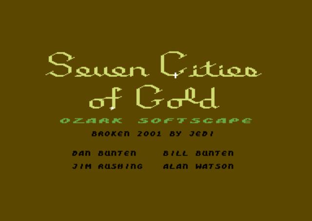 Cabeza de Vaca, Estevan the Moor, and others began rumors of the Seven Cities of Cibola (Gold)