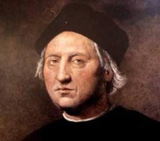 Columbus reaches America
