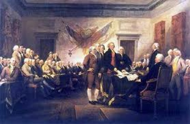 Colonies Declare Independence