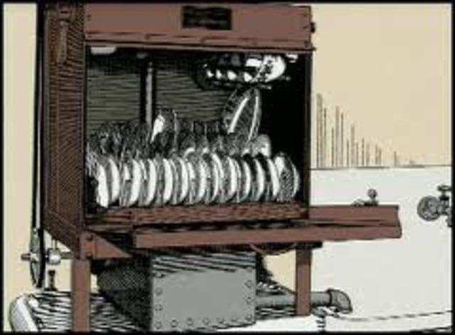 First dishwasher