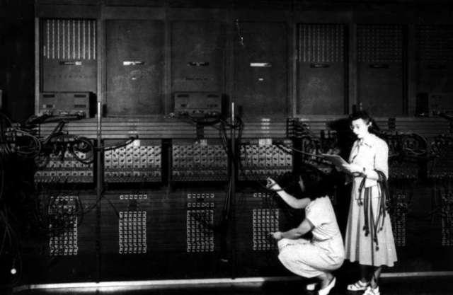 Eckert y Mauchley ENIAC