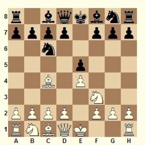 Programa para jugar ajedrez