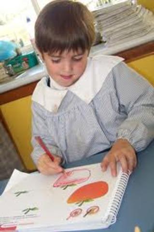 inicio de preescolar