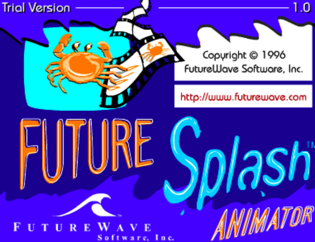 Future Splash Animator.