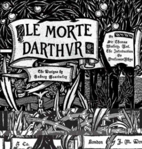 First printing of Le Morte D'Arthur