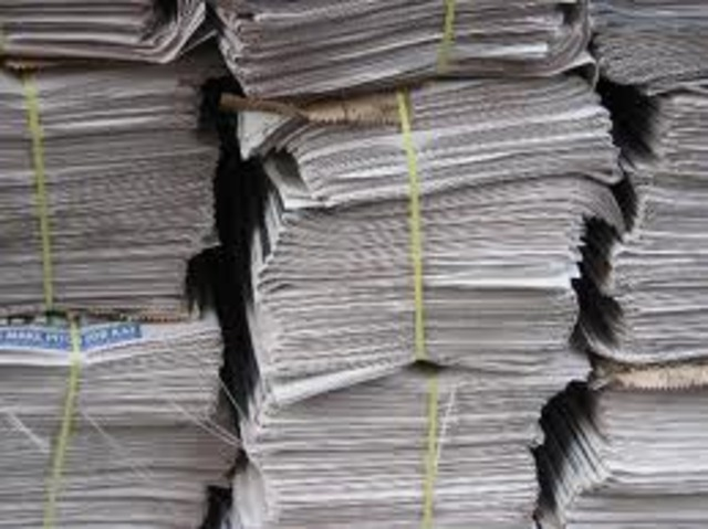 Paper is first mass-produced in Spain