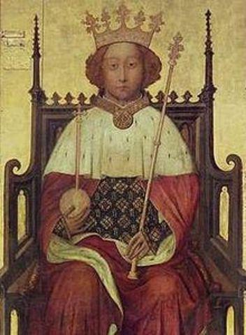 Richard II of England is Crowned