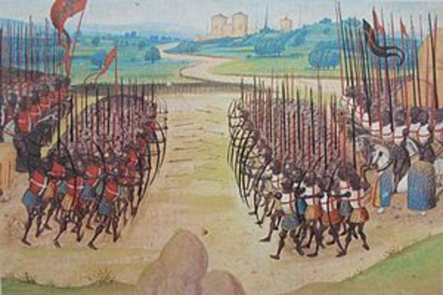 The Battle of Agincourt (1/2)