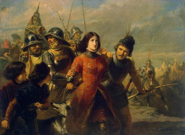 The Capture of Jeanne d'Arc