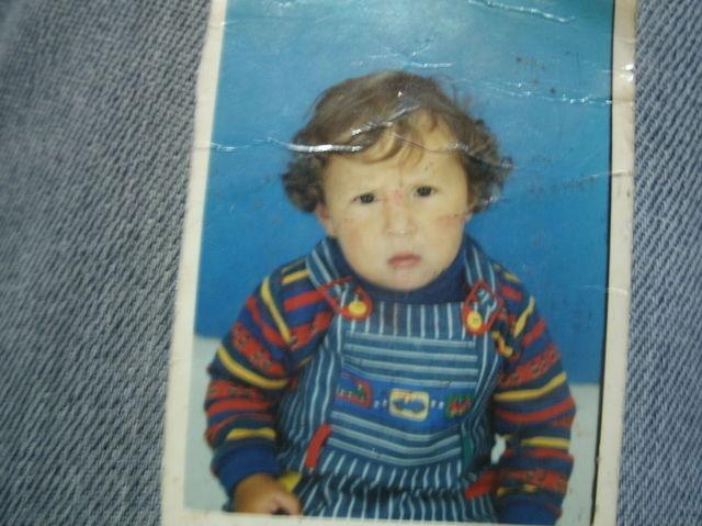 Tenia 2 años y Solia ser crespo
