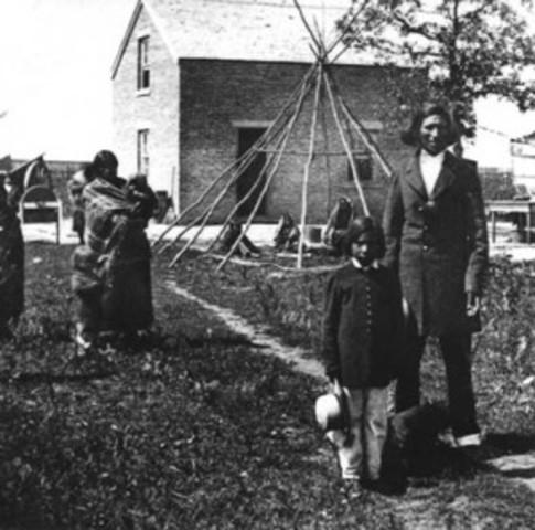 Sisseton Reservation established