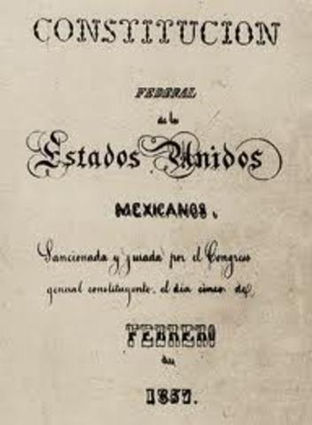 CONSTITUCION 1857