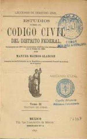 CODIGO CIVIL 1870
